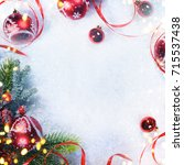 holiday background  greeting... | Shutterstock . vector #715537438