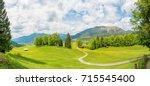 mountain panorama | Shutterstock . vector #715545400