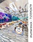 changi  singapore   september 9 ... | Shutterstock . vector #715592479