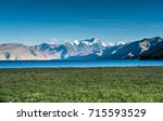 beautiful landscape background... | Shutterstock . vector #715593529
