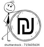 cartoon stick man illustration...   Shutterstock .eps vector #715605634
