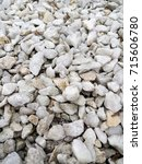 Small photo of White stone. Crushed. Small crushed stone.