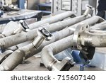 Small photo of Weld pipe joints made by manual arc welding