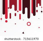 modern abstract shapes. design... | Shutterstock .eps vector #715611970