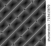 design seamless monochrome...   Shutterstock .eps vector #715615870