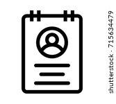 account icon | Shutterstock .eps vector #715634479