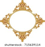 illustration of an antique... | Shutterstock .eps vector #715639114