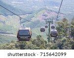 da nang  vietnam   sep 5  2017  ... | Shutterstock . vector #715642099
