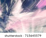 abstract grey  blue and pink... | Shutterstock . vector #715645579