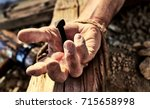 Hand Of Christ Nailed To The...