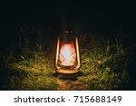 kerosene lamp. kerosene lamp...   Shutterstock . vector #715688149