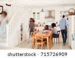 Interior Of Busy Family Home...