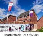 newcastle upon tyne  england ... | Shutterstock . vector #715747204