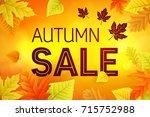 business background text autumn ...   Shutterstock .eps vector #715752988