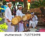 vietnam. nov 23  2014. drummers ... | Shutterstock . vector #715753498