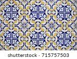 Texture Of Geometgrical Tiles...