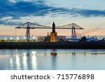 middlesbrough transporter... | Shutterstock . vector #715776898