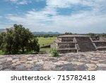 greatness of the aztec empire ... | Shutterstock . vector #715782418
