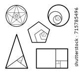 minimalistic style design.... | Shutterstock .eps vector #715785496
