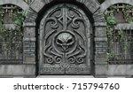 Dungeon Door. Details Of...