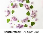 flat lay top view photo of... | Shutterstock . vector #715824250