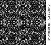 ethnic design. striped... | Shutterstock . vector #715825540