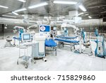 ophthalmology operation room... | Shutterstock . vector #715829860