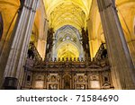 Nave Of The Cathedral Of...
