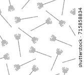 the silver butterfly wand...   Shutterstock . vector #715858834