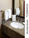 Small photo of Hotel Vanity and washbasin
