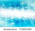 abstract christmas background... | Shutterstock . vector #715892398