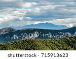 mountains view from gorges de... | Shutterstock . vector #715913623