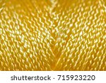 nylon chord   yellow | Shutterstock . vector #715923220