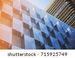 business concept   corporate... | Shutterstock . vector #715925749