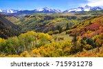 Colorful Mountain Landscape...