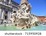rome  italy   july 16  2017 ... | Shutterstock . vector #715950928