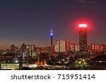 johannesburg  south africa  ... | Shutterstock . vector #715951414