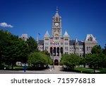 Salt Lake City Hall Front...