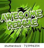 awesome reggae   comic book...
