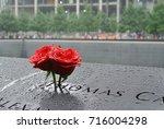 Roses At The 9 11 Memorial