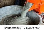 Mixing Mortar In Bucket