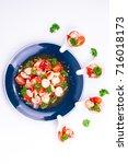 pork ribs fermented | Shutterstock . vector #716018173