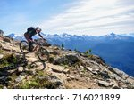 top of the world trail ... | Shutterstock . vector #716021899