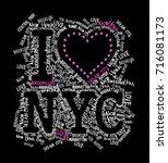 slogan graphic for t shirt | Shutterstock . vector #716081173
