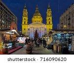 budapest  hungary   december 5  ...   Shutterstock . vector #716090620