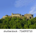 stirling castle  located in...   Shutterstock . vector #716093710