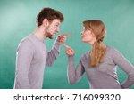 bad relationship and divorce.... | Shutterstock . vector #716099320