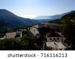 traditional houses of panagia ... | Shutterstock . vector #716116213