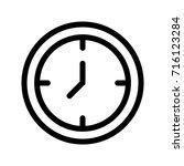 clock | Shutterstock .eps vector #716123284
