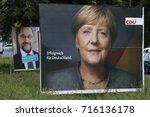 september 15  2017   berlin ... | Shutterstock . vector #716136178